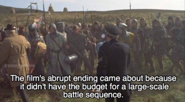 """""""Monty Python And The Holy Grail"""" Facts (22 pics)"""