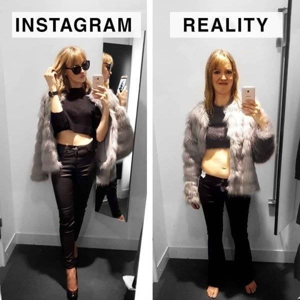 Instagram Vs Reality By Geraldine West (24 pics)