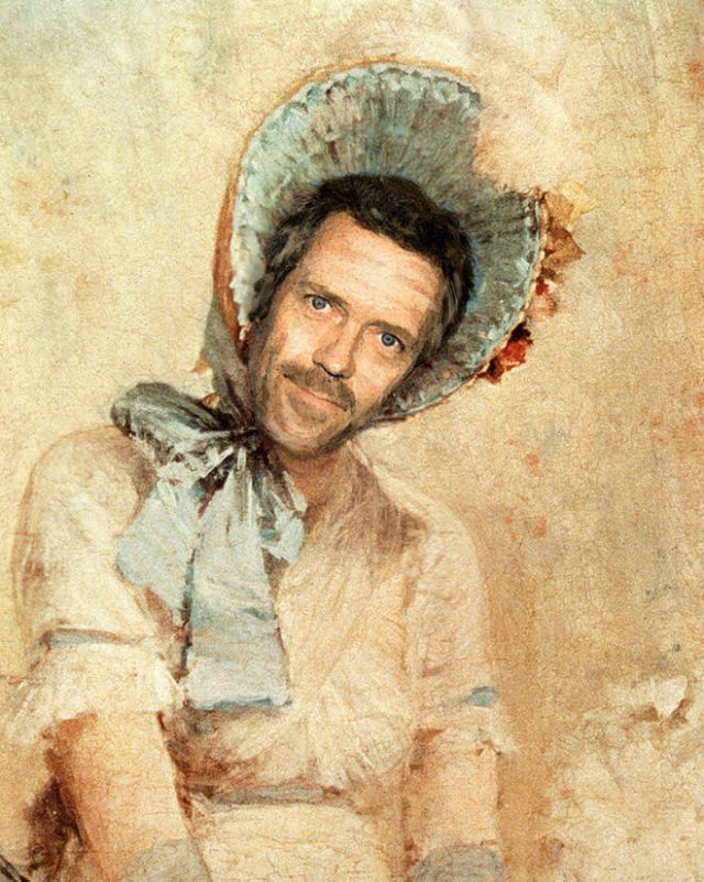 Modern Celebs In Classic Paintings (21 pics)