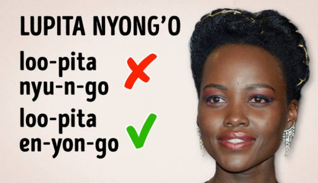 How To Pronounce Celebrity Names (20 pics)