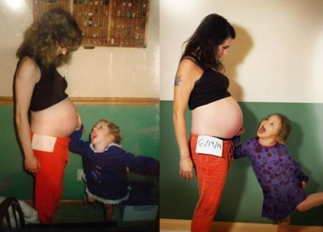 Some People Look Like Their Parents (20 pics)