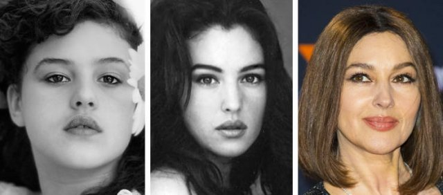 Famous Women Then And Now (16 pics)