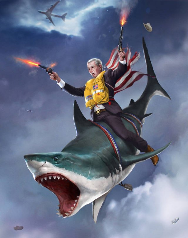 Artist Turns US Presidents Into Action Heroes (21 pics)