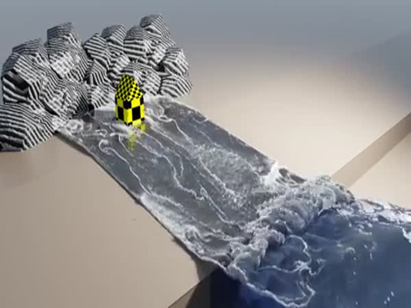 How To Protect Your Coastlines 101: A FLIP Fluid Simulation