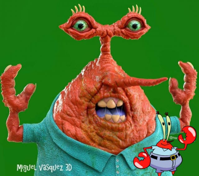 Real-Life Cartoon Characters (16 pics)