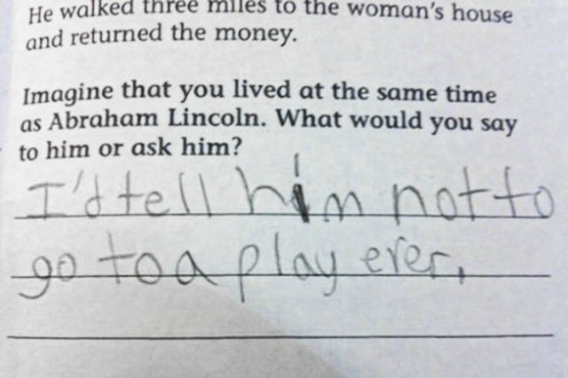 Awesome Exam Answers (23 pics)
