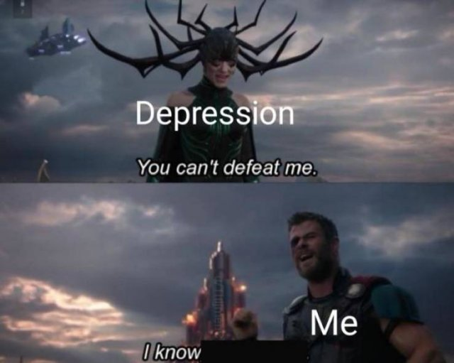 Memes Against Depression (34 pics)