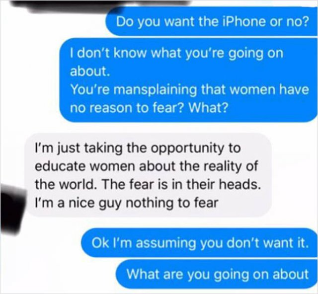 A Guy Gets Mad Because Woman Didn't Give Him Her Home Address (10 pics)