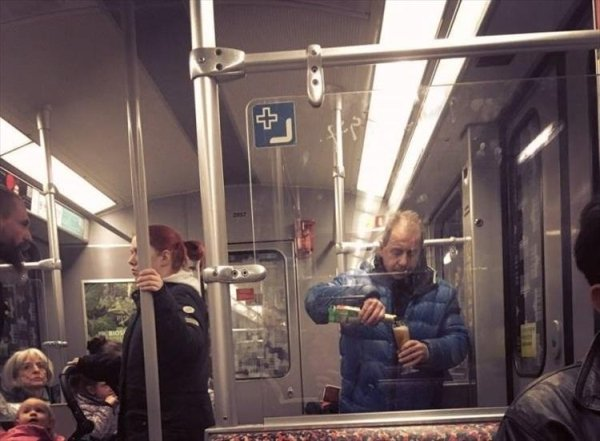 Strange People In The Subway (39 pics)
