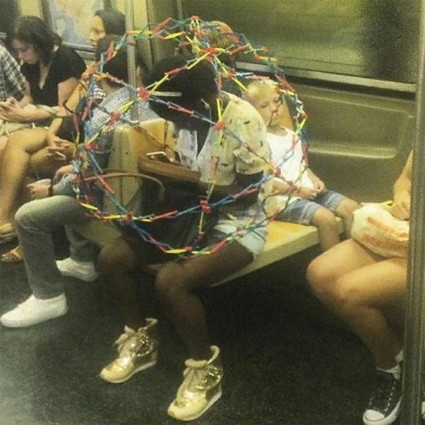 Strange People In The Subway (39 pics)