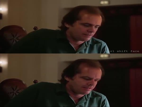 The Shining (1980) - Jim Carrey Deepfake