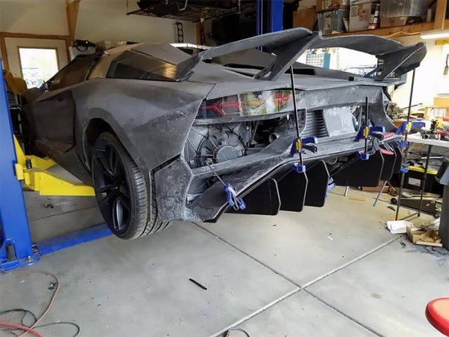 Lamborghini Aventador Made On A 3D-Printer (18 pics)