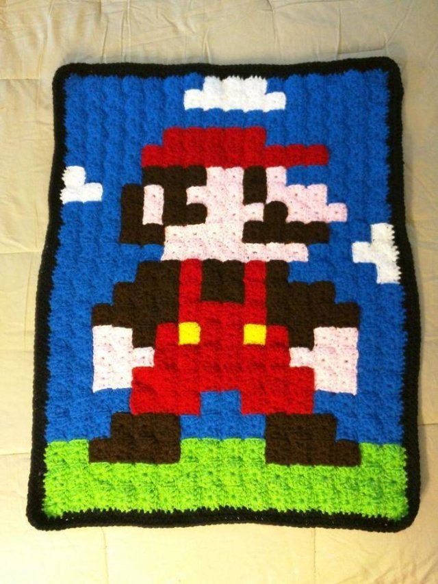 Retro Game Blankets (40 pics)