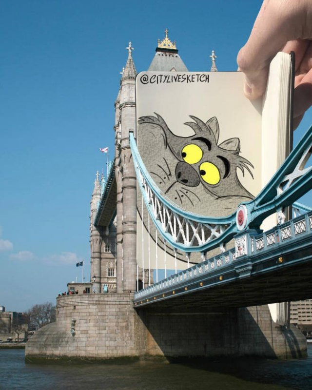 Cartoons In Real World (20 pics)