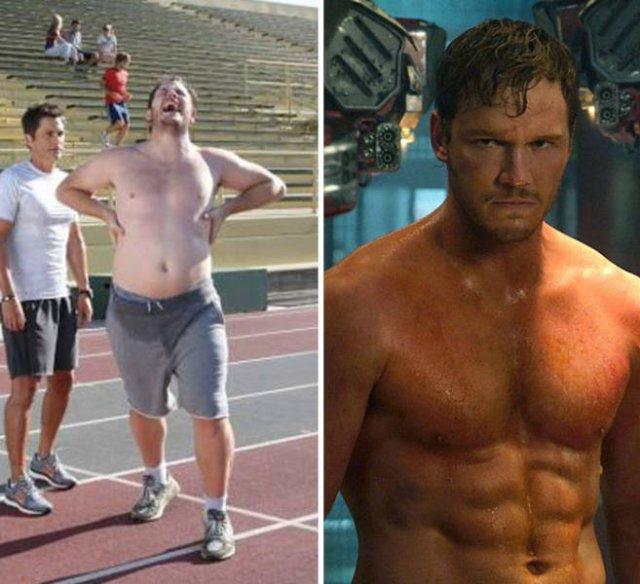 How Marvel Roles Can Change Actors' Bodies (10 pics)