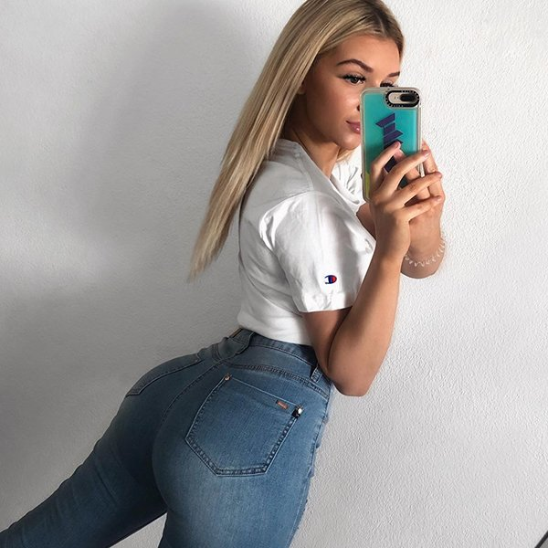 Girls In Jeans (37 pics)