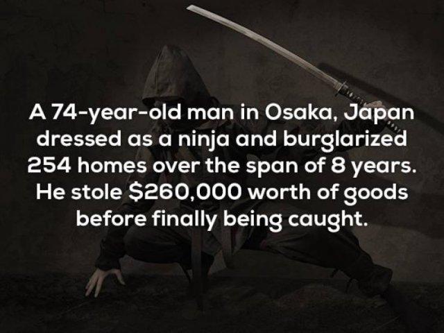 Unbelievable Facts (20 pics)