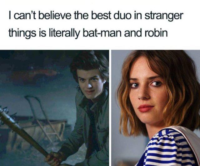 """""""Stranger Things"""" Memes (35 pics)"""