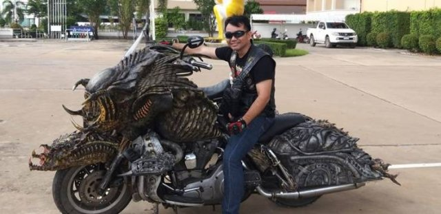 There Is An Actual Predator Living In Thailand (7 pics)