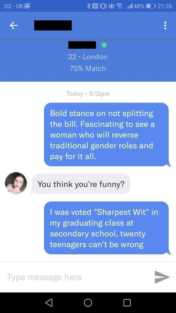 Awkward Dating Conversations (31 pics)
