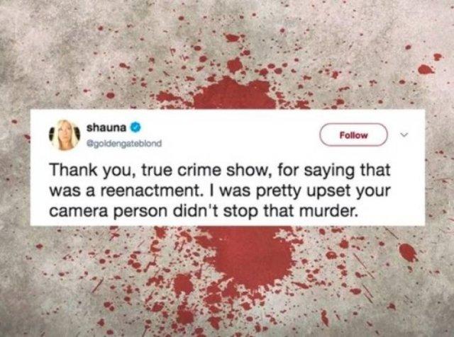 Crime TV Shows Memes (29 pics)