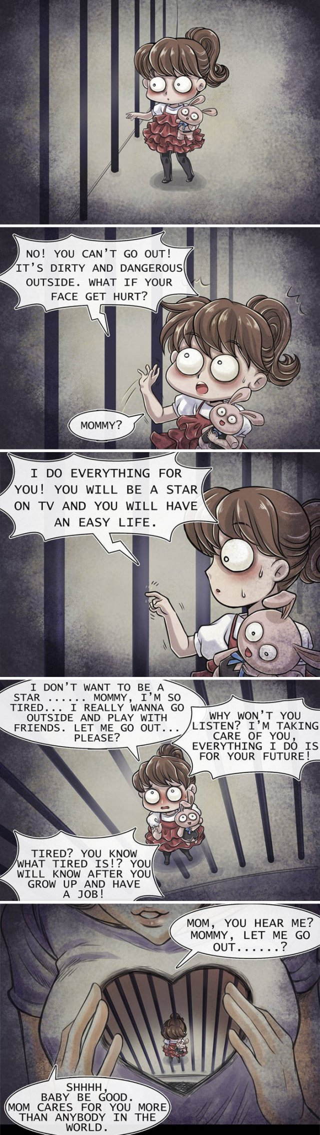 Very Scary Horror Comics With Unexpected Endings (18 pics)