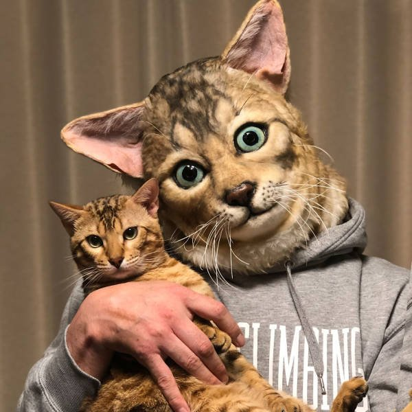 Realistic Pet Masks (17 pics)