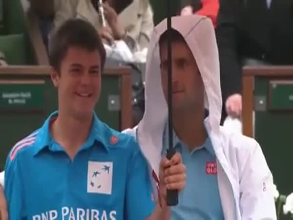 One Of The Most Wholesome Moments In Tennis