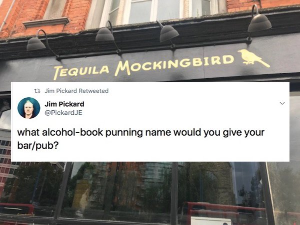 Punning Bar Names (28 pics)