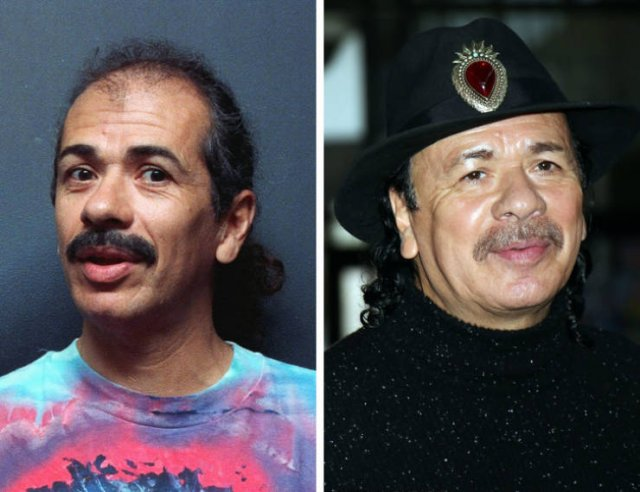 Famous Music Artists Then And Now (20 pics)