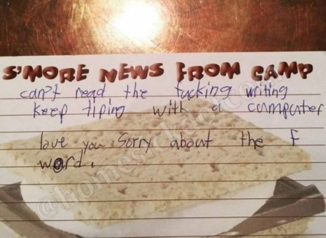 When Kids Are Really Unhappy With Their Camp (18 pics)