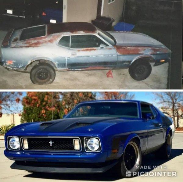 Extraordinary Car Restorations (32 pics)