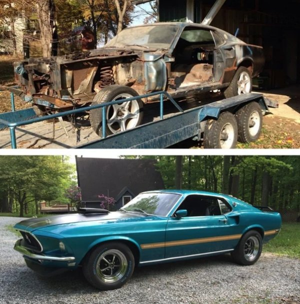 Extraordinary Car Restorations (32 pics)
