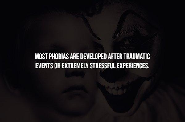 Facts About Phobias (15 pics)