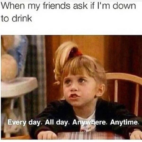Getting Drunk. Part 2 (57 pics)