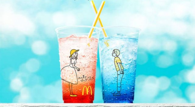 Japanese McDonald Introduced A New Cup Design... (13 pics)