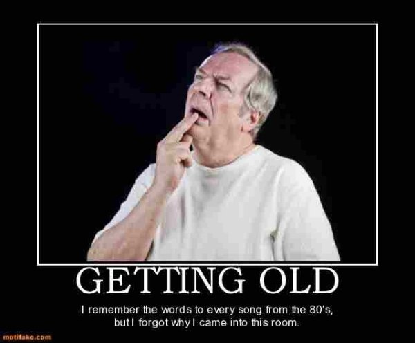 Memes About Getting Old (33 pics)