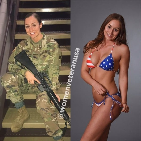 Girls With And Without Uniform (41 pics)