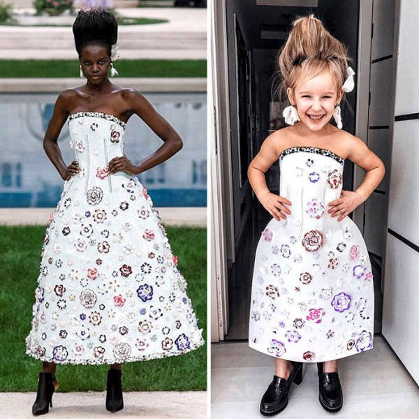 This Girl's Outfits Look Much Better Than Those Of Celebs And Models (23 pics)