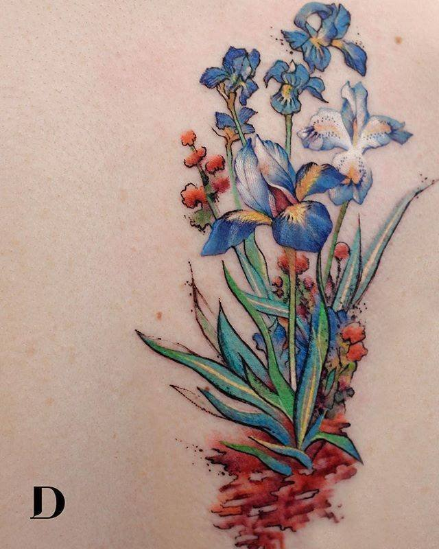 Tattoos With Watercolor Technique (29 pics)