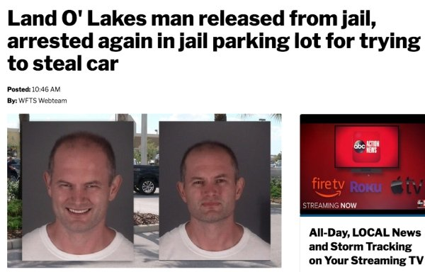 Nothing New In Florida According To This Year's Headlines (32 pics)