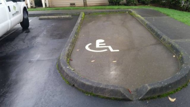Wheelchair-Accessible? Well, Almost (45 pics)