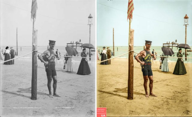 Colorized Vintage Photos (40 pics)