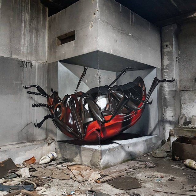 Great 3D Illusions By Meet Odeith (31 pics)