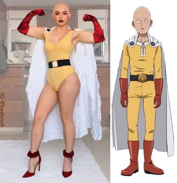 Not The Cosplay We Used To, But This Girl Makes It Hot, Funny and Cool (46 pics)