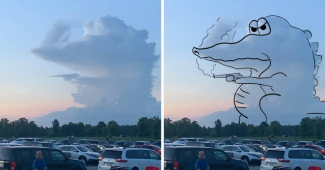Can You See It In The Clouds Too? (20 pics)