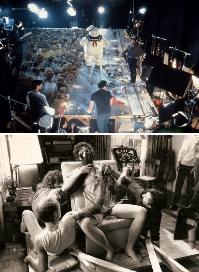 Behind The Scenes Of Famous Movies (30 pics)
