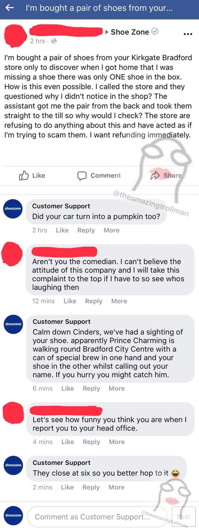 Got Trolled By Customer Support (25 pics)