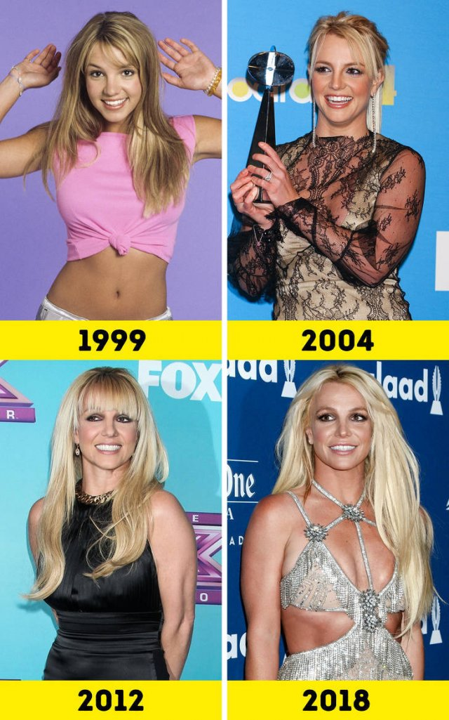 Female Singers Then And Now (15 pics)