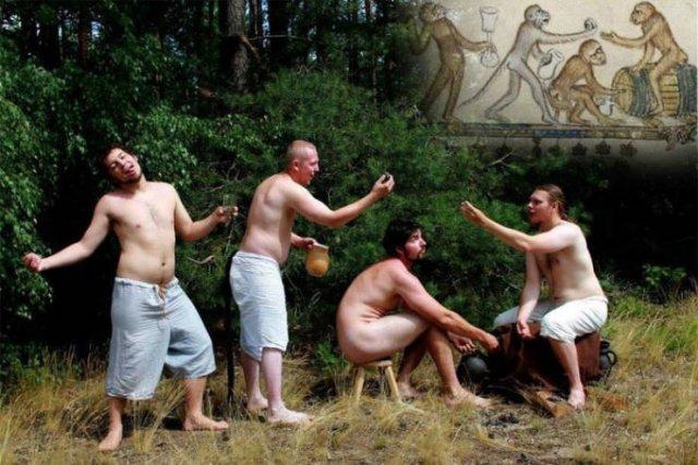 People Recreate Medieval Paintings (15 pics)